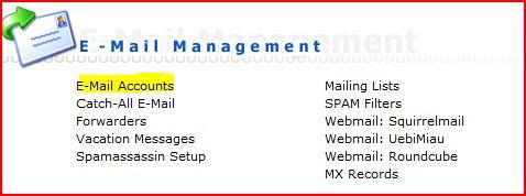 email-menu